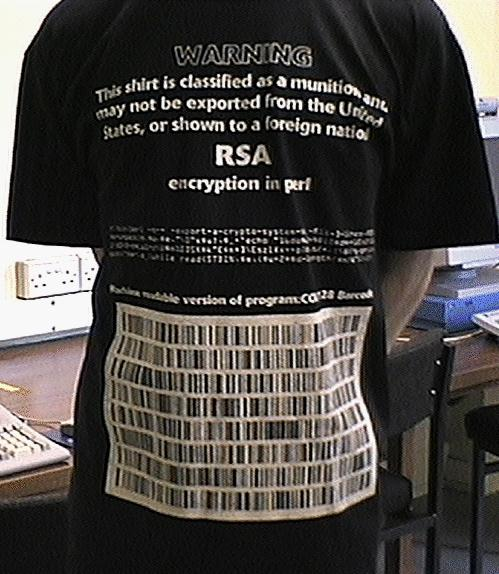 RSA - Restricted Munitions Shirt